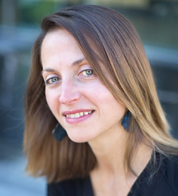 Photo of Sandra Evans, author of This Is Not a Werewolf Story