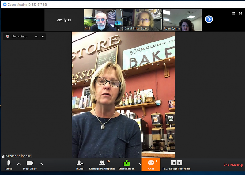 Suzanne Droppert of Liberty Bay Books shares details about making Facebook Live videos.