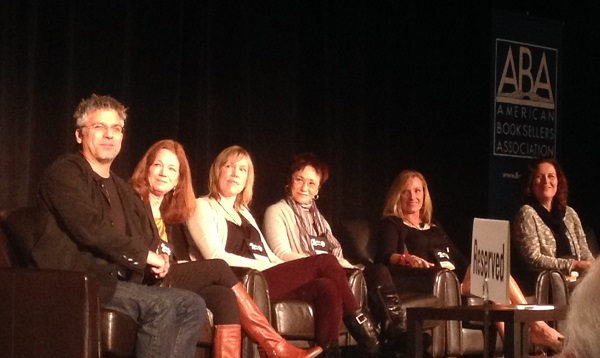 Seattle7Writers Garth Stein, Carol Cassella, Tara Conklin, Elizabeth George, Deb Caletti, and Jennie Shortridge.