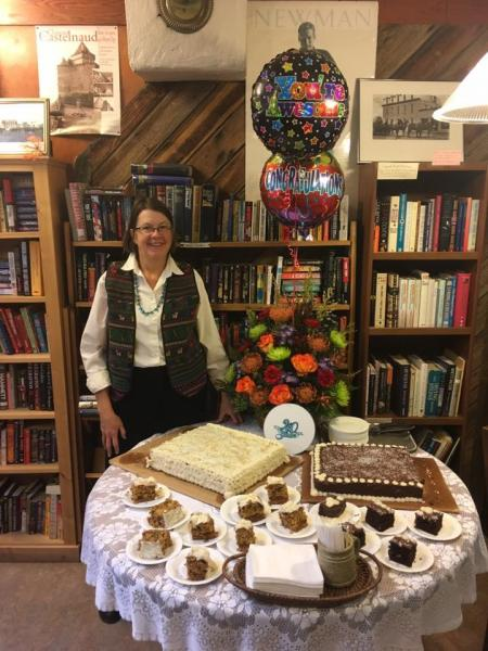The Bookloft in Enterprise, Oregon, owner Mary Swanson on 40th anniversary