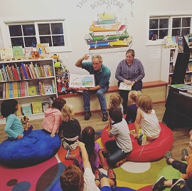 A Literacy Night hosted at The Silver Unicorn