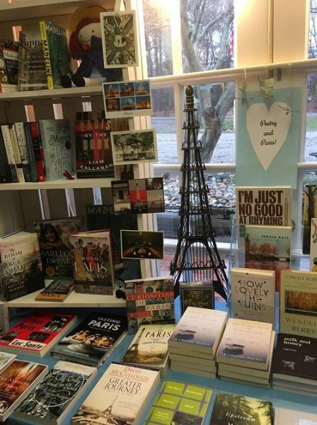 Titcomb's Books Poetry Month Display