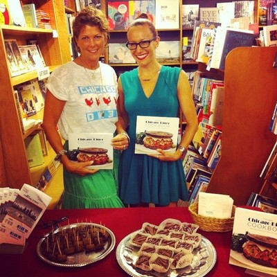 Unabridged Books welcomed The New Chicago Diner Cookbook authors Jo Kaucher and Kat Barry.