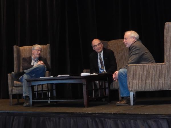 Douglas Preston, ABA CEO Oren Teicher, and Richard Russo discuss the appeal to DOJ to investigate Amazon.