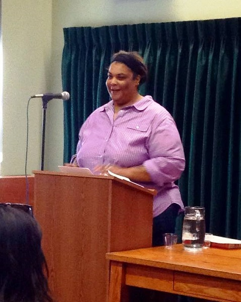Roxane Gay appeared at Vroman's in Pasadena, California.