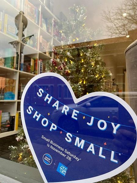 Small Business Saturday at Wheatberry Books in Chillicothe, Ohio.