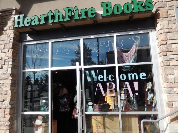 Booksellers on the half-day bookstore received a warm welcome at HearthFire Books in Evergreen.
