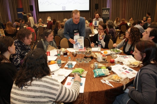 Reps discussed their favorite upcoming titles at two lunches at Wi11.