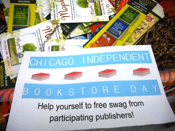 Women & Children First offers free publisher goodies in the name of Chicago Independent Bookstore Day.