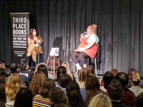 Abbi Jacobson and Lindy West at Third Place Books