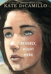 Cover image for Beverly, Right Here, which features an illustrated girl looking up toward the sky.