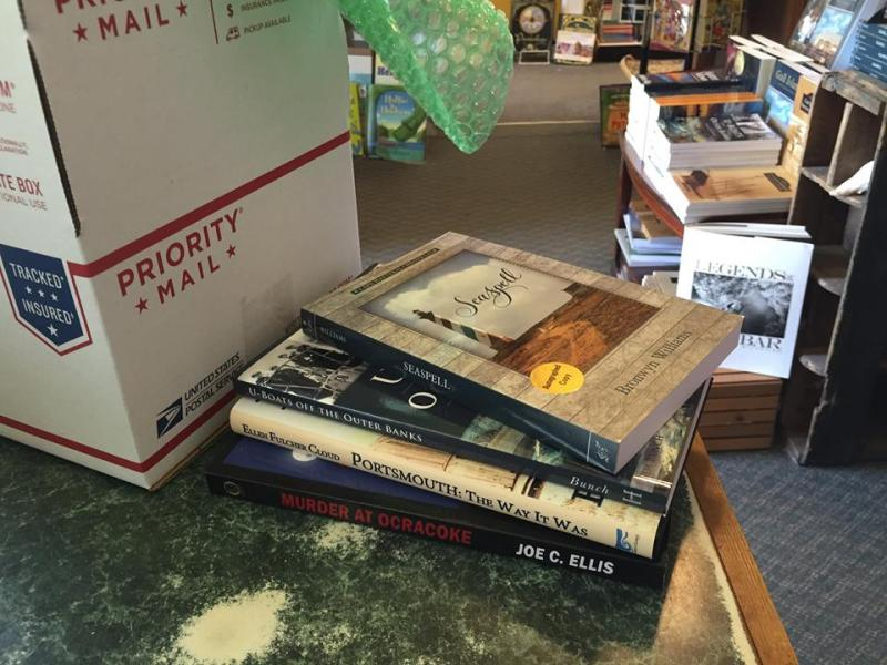 Packages from Buxton Village Books