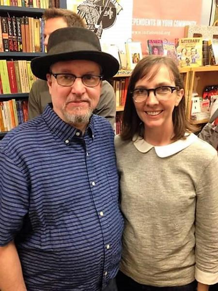 Corey and Cheryl Mesler own Burke's Book Store.