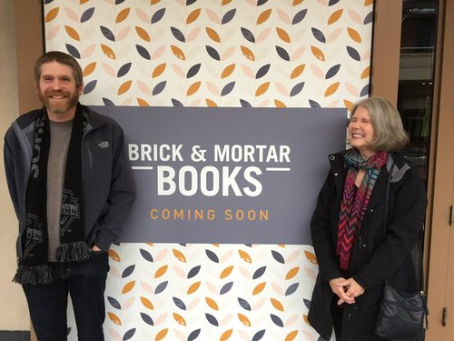 Dan Ullom and Tina Ullom of Brick & Mortar Books