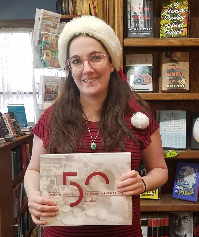 """For its """"12 Days of Gifts"""" campaign, Explore Booksellers in Aspen, Colorado, highlighted books and other items on Facebook."""
