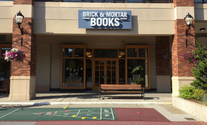 Brick & Mortar Books exterior