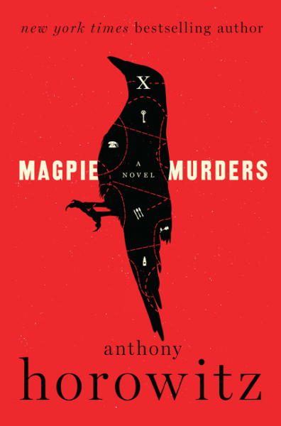 Image result for magpie murders book cover