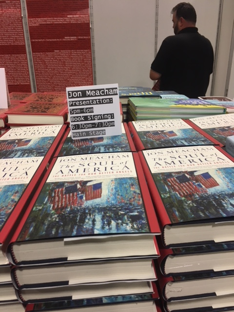 P&P's display of Jon Meacham's new book The Soul of America