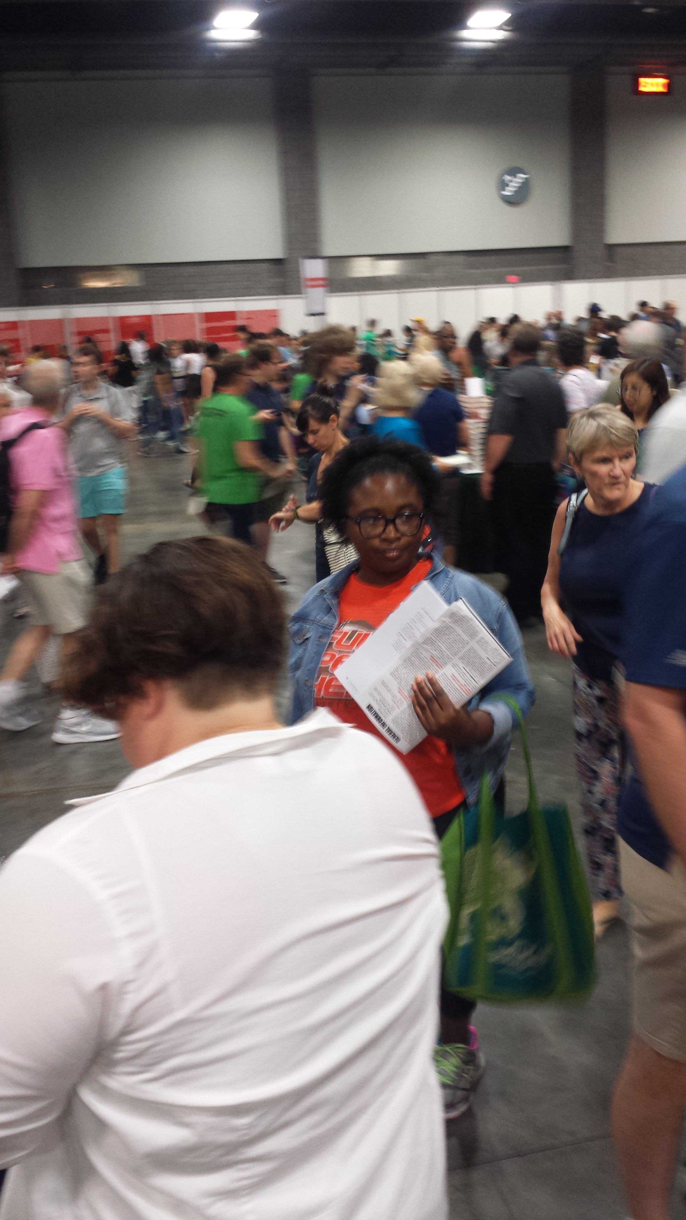 Readers could find books by more than 100 authors at this year's NBF.