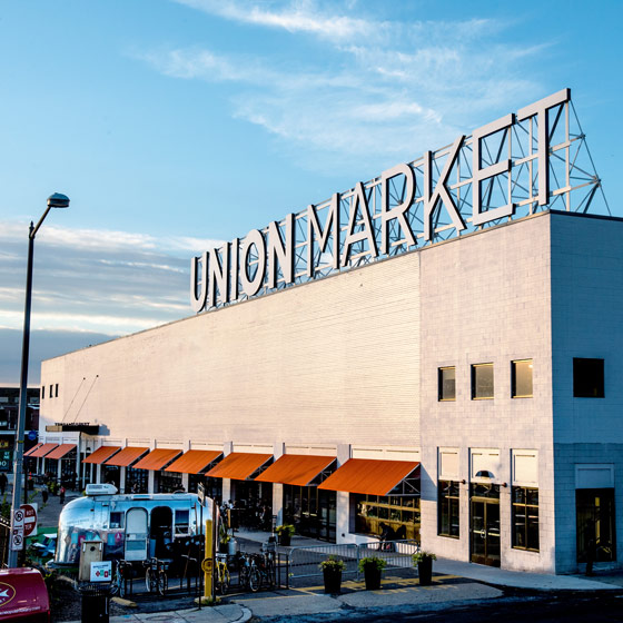 Artist's rendering of the new Politics & Prose location coming to D.C.'s Union Market area this fall
