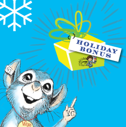 Patterson Holiday Bonus mouse