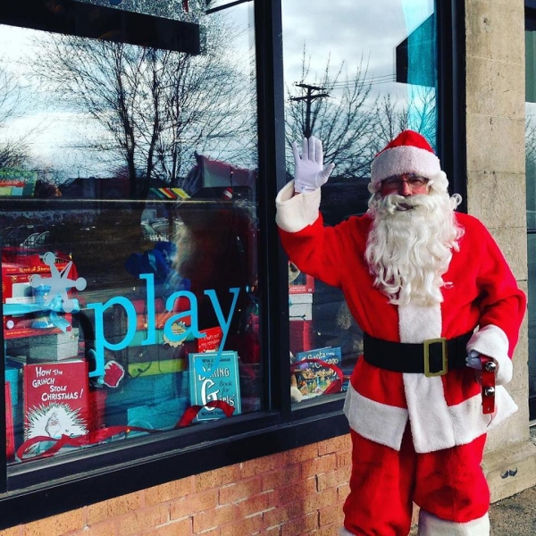 Santa at Play storefromt