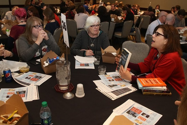 At Rep Picks Speed Dating, booksellers got a sneak peek at upcoming books.