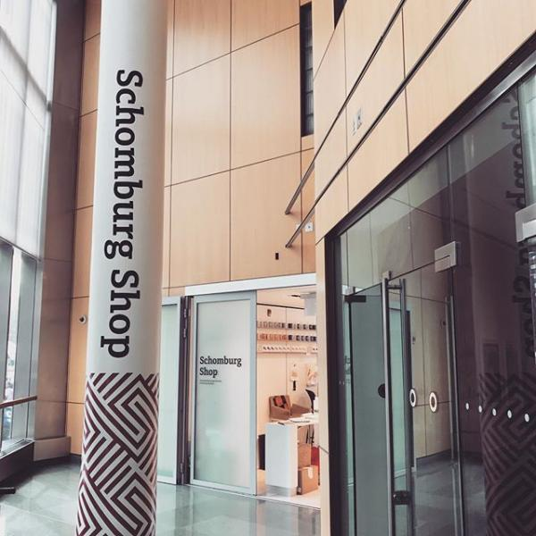 Schomburg Shop entrance