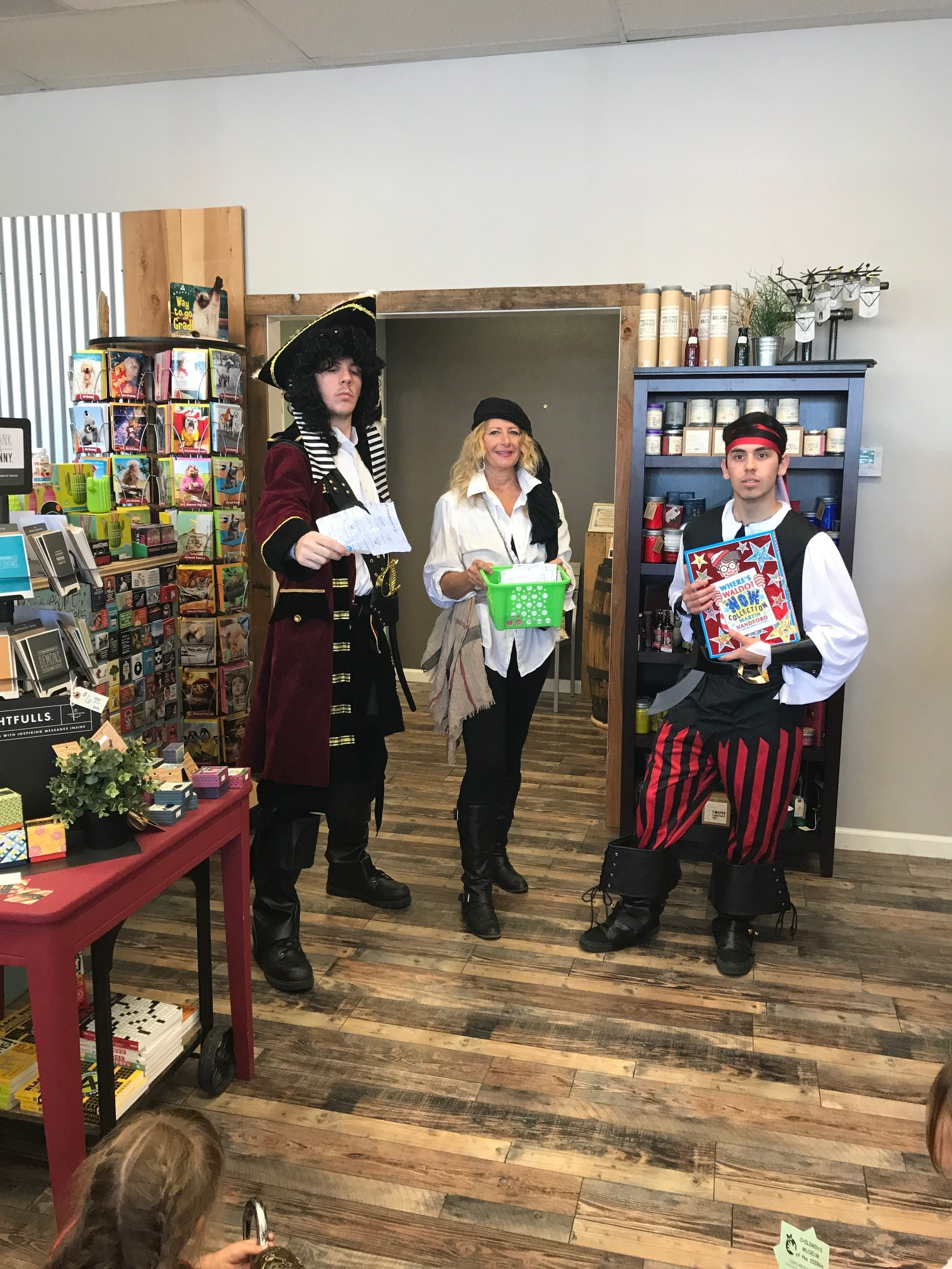 Branches Books & Gifts in Oakhurst, California, hosted a pirate-themed finale party.