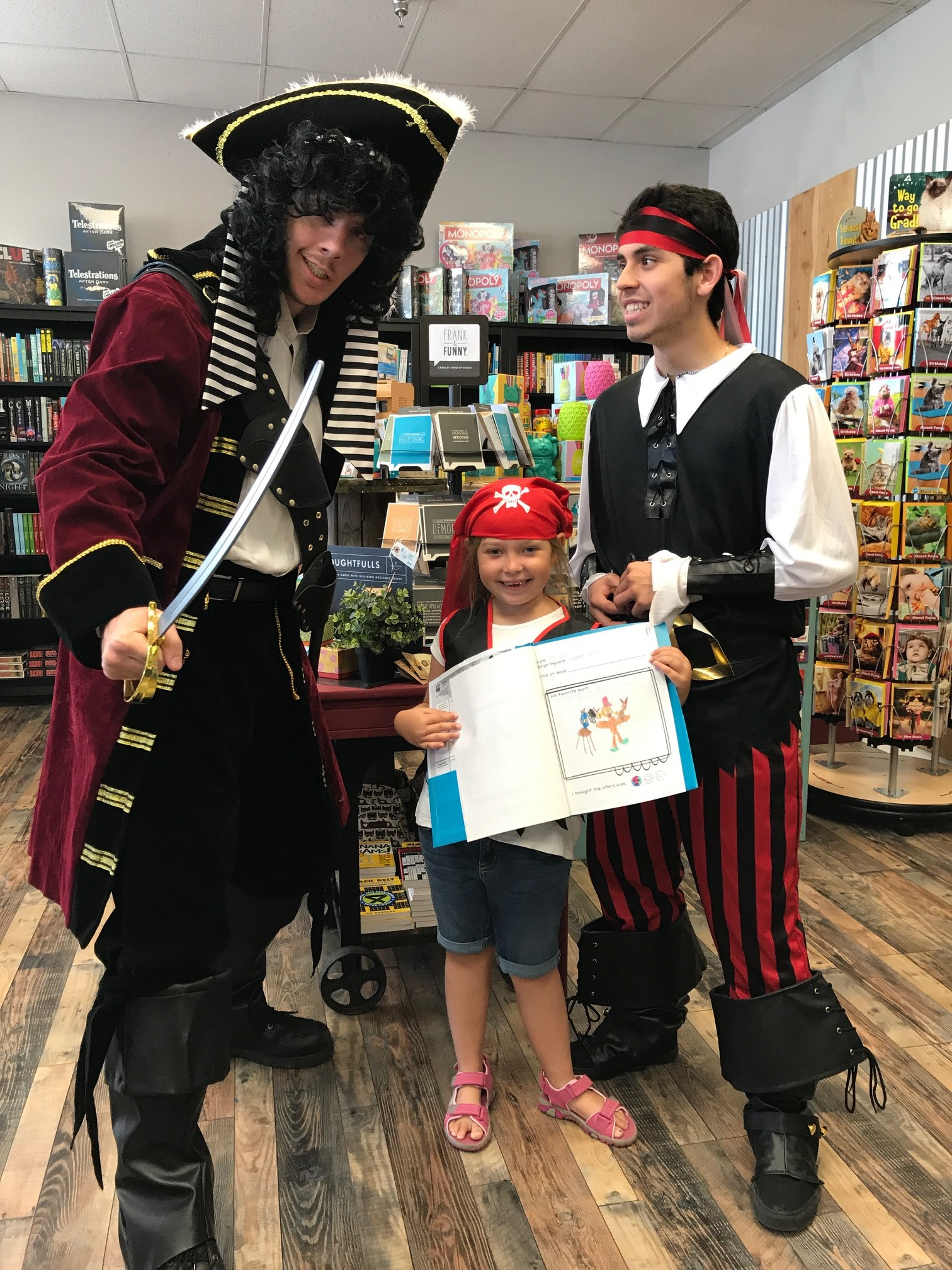 More pirate fun at Branches