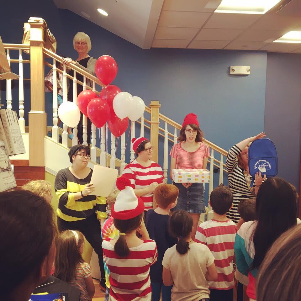 Belmont Books' finale party