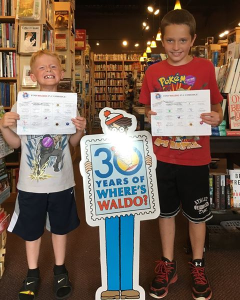 More completed passports at Scout & Morgan Books in Cambridge, Minnesota