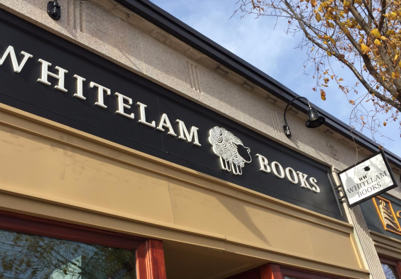 Whitelam Books is now open.