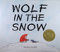 Wolf in the Snow cover