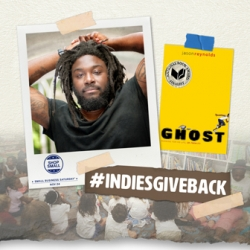 Jason Reynolds and Ghost book cover