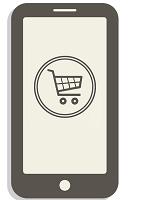 Shopping via phone