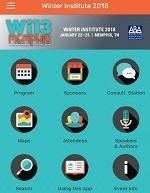 Winter Institute app screenshot