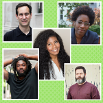 Jacqueline Woodson, Nic Stone, Jason Reynolds, Nick Offerman, and David Levithan